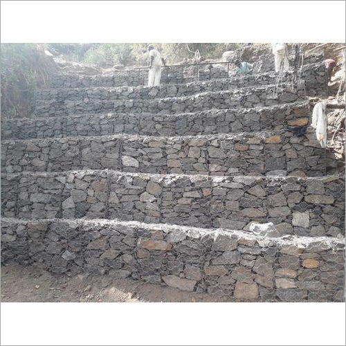 Natural Stone Gabion Box