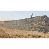 Factory Land Gabion Compound Wall