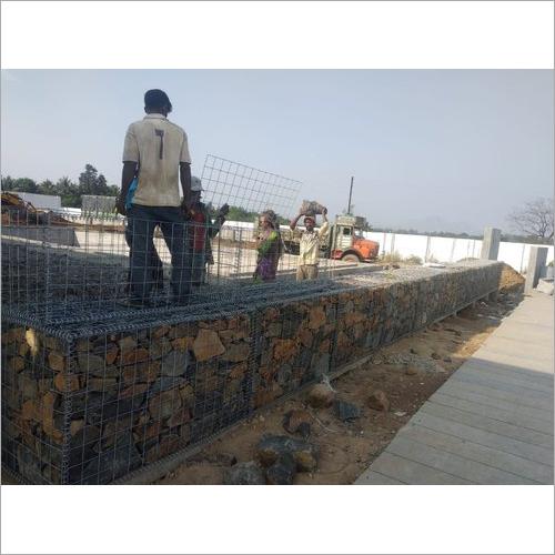 Gabion Compound Wall
