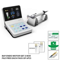 DENTMARK ENDO MOTOR WITH IN BUILT APEXLOCATOR + TWO E-FILE FREE(EACH PACK OF 6PCS)