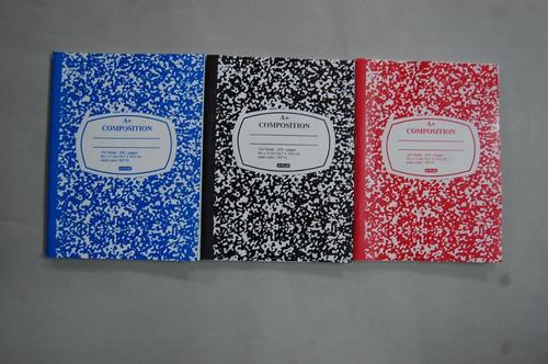 Composition Book with corner