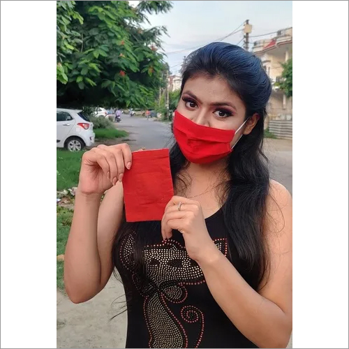 Bio-degradable auto sanitize c-9 khadi Face Mask
