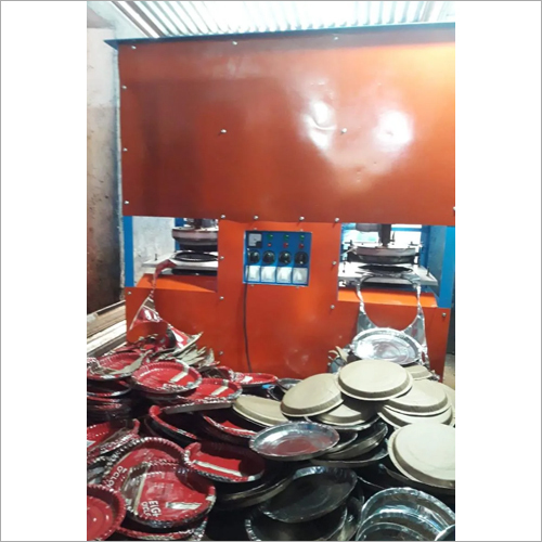 Double Die Motor Paper Plate Making Machine