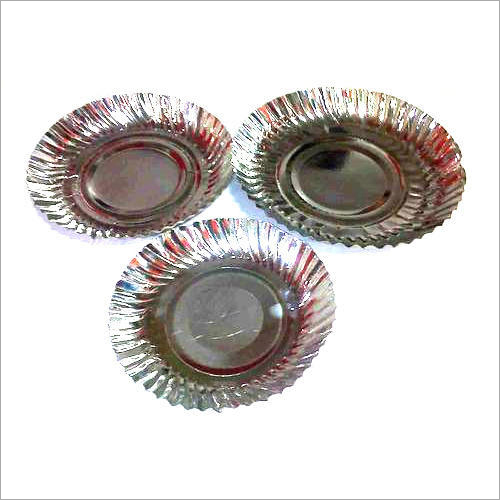 Silver Round Coated Plate