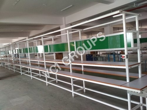 Belt Conveyer Pvc Assembly Line Conveyor