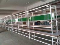 Belt Conveyer Pvc Assembly Line Conveyor