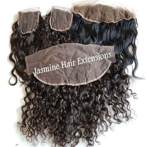 Brazilian Virgin Straight Hair With Swiss transparent Lace Frontal
