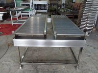 Stainless Steel Roller Table Conveyors