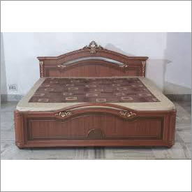 Designer Wooden Double Bed