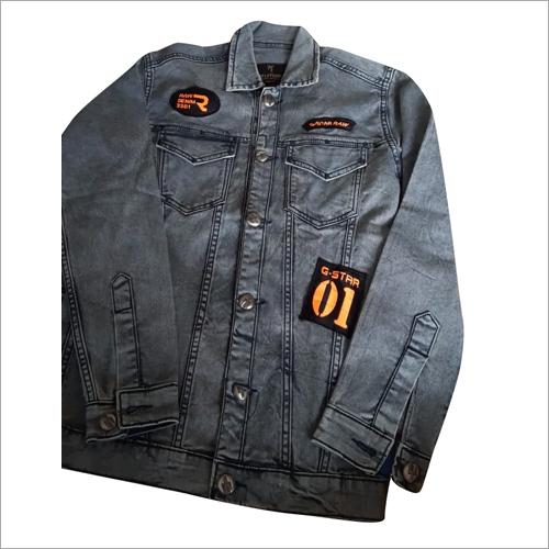 Mens Denim Jeans Jacket