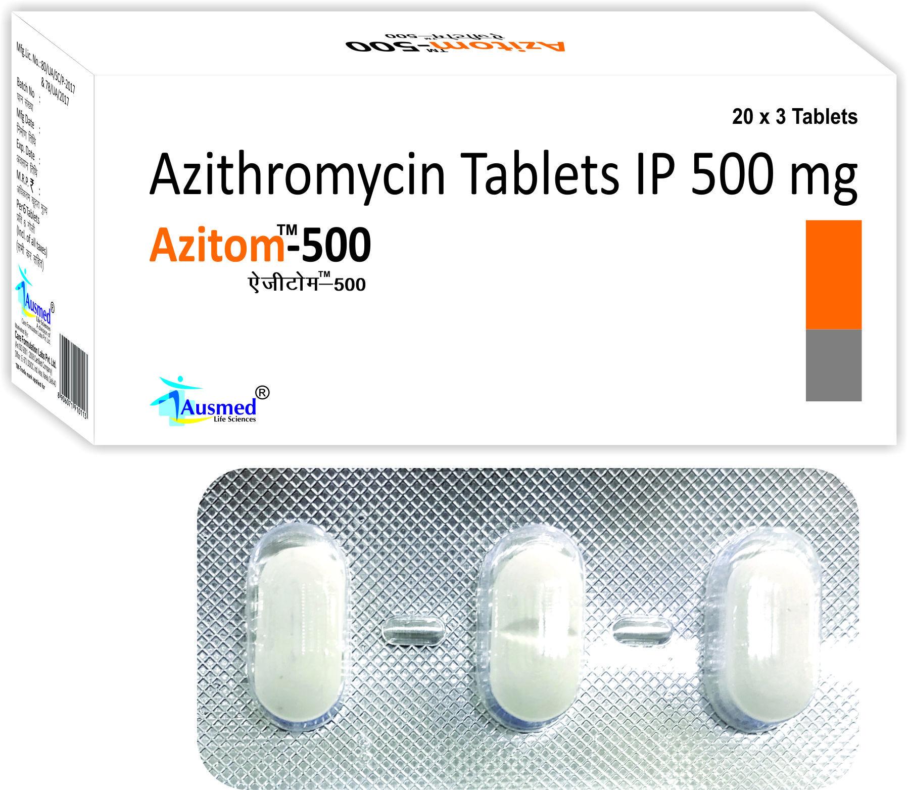 Azithiromycin , Azitom 250