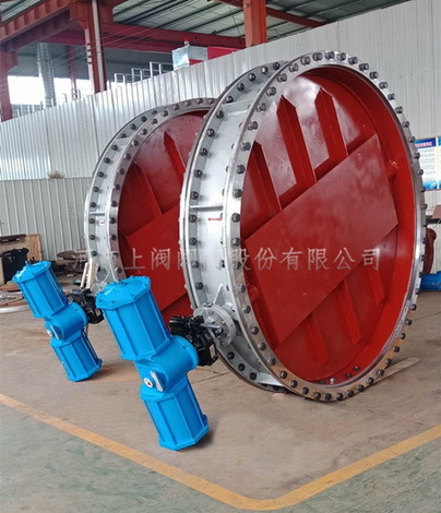 Round electric (gas, hand) ventilation butterfly valve