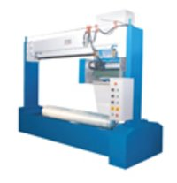 Horizontal Fabric Roll Stretch Wrapping Machine