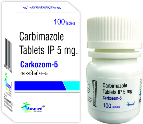 Carbimazole Ip  5mg , Carkozom.