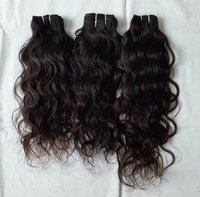 Raw Unprocessed Wavy Hair Extensions
