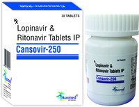 Lopinavir IP 200mg. + Ritonavir IP 50mg, CANSOVIR