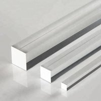 Free cutting square bright bar