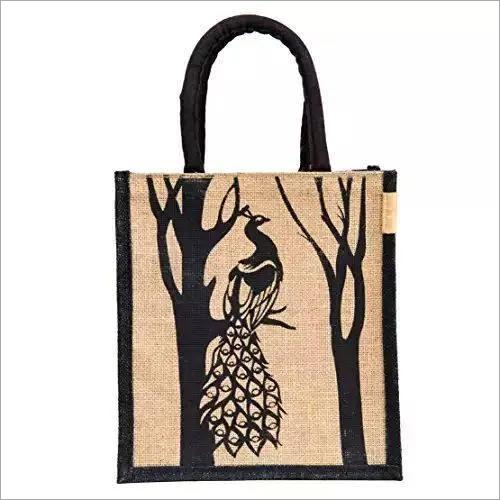 Laminated Printed Jute bag