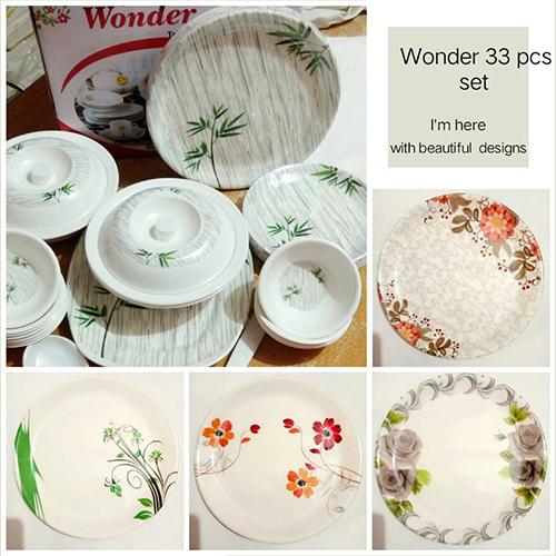 Wonder 33 Pcs Dinner Set