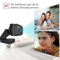 1080p Hd Camera Webcam, 5 Million Pixels Autofocus S70
