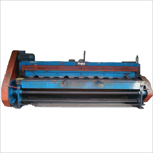 Motorized Mechanical Shearing Machine