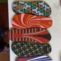ladies emboosed sole