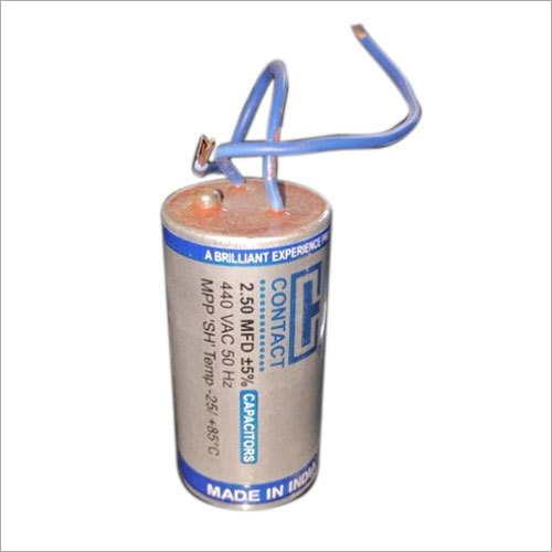 2.50 MFD Oil Tank Capacitor