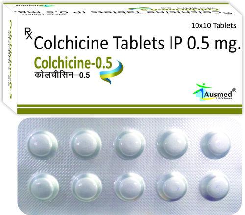 Colchicine Ip 0.5mg , COLCHICINE-0.5