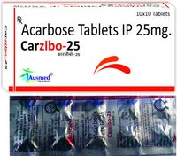 Acarbose Ip 25 Mg ,carzibo-25.