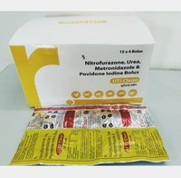 NITROFURAZONE IP:60MG METERONIDAZOLE ( UTI CLEAN)