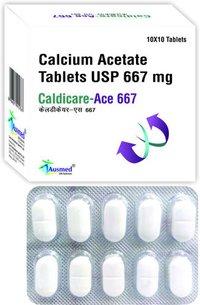 Calcium Acetate Usp 667mg, Caldicare Ace 667