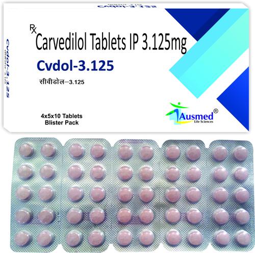 Carvedilol Tablets Ip 3.125 , Cvdol 3.125