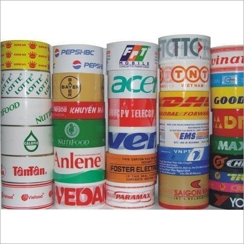 Single Sided Self Adhesive Printed Tape