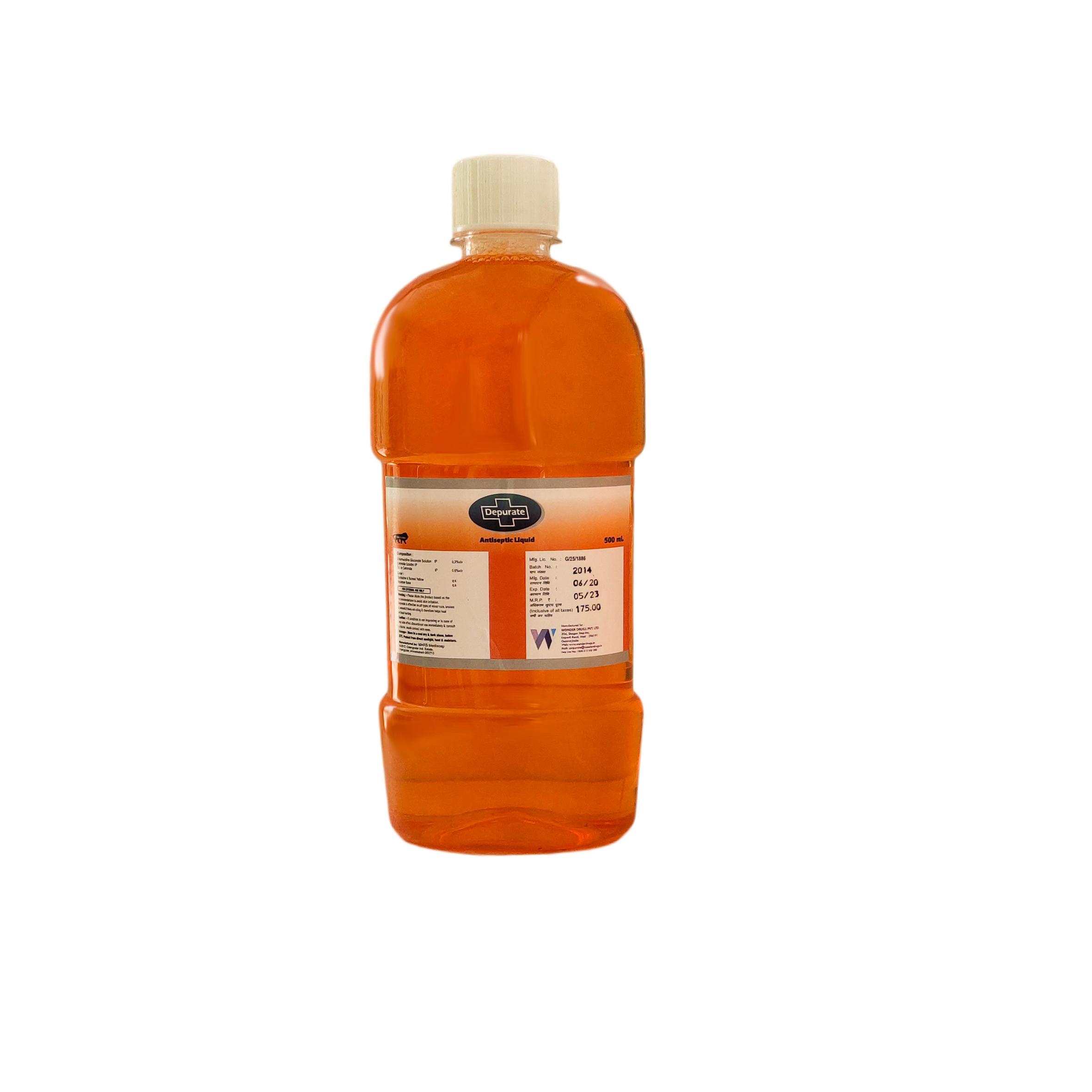 500 ml Depurate Antiseptic Liquid