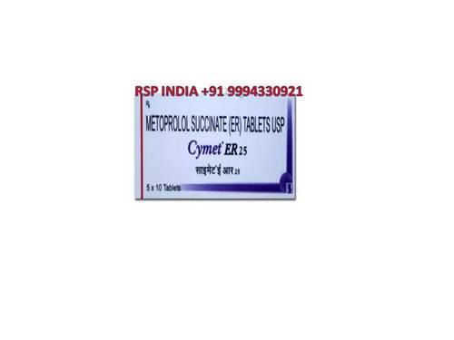 Cymet Er 25 Mg Tablets