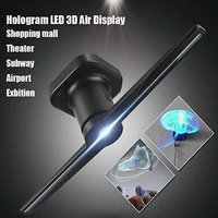 DENTMARK 3D HOLOGRAPHIC DISPLAY FAN WITH PORTABLE LED PROJECTOR