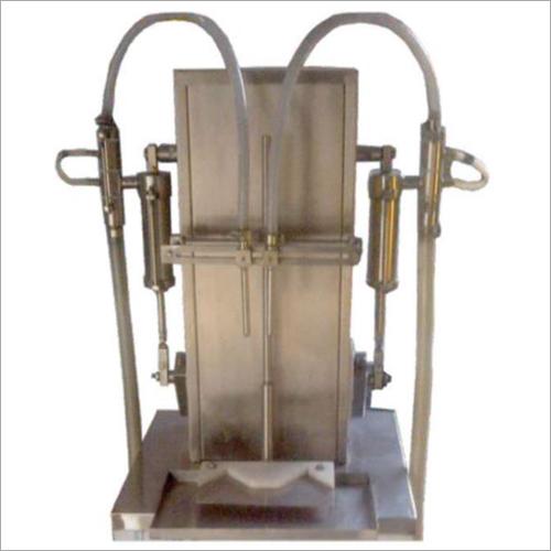 Semi Automatic Filler Rotating Pump Machine