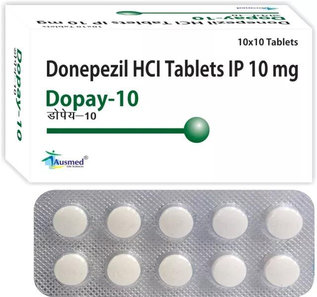 Donepezil Hydrochloride IP 5mg, DOPAY