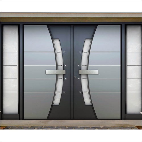 Aluminium Swing Entrance Door
