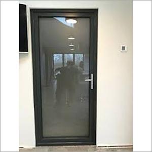 Black Aluminium Door