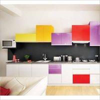 High Gloss Modular Kitchen