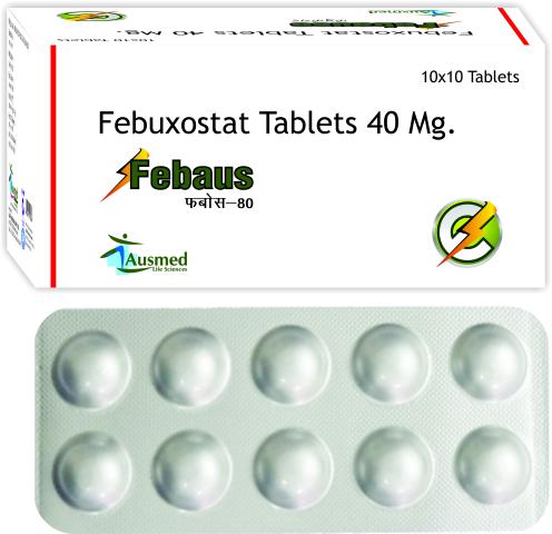 Febuxostat 80 Mg, Febaus
