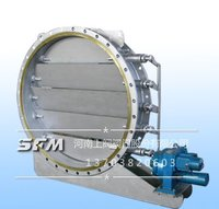 Round desulphurization, denitrification special valve