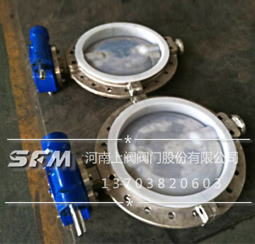 Desulphurization and denitrification valve