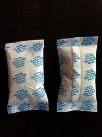 silica gel pouch 5 gm
