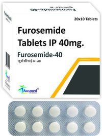 Furosemide Ip 40mg, Furosemide.