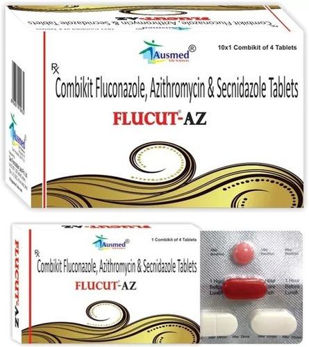 Fluconazole  IP  150 mg. + Azithromycin Dihydrate IP 1gm  +  Secnidazole IP 1gm ,FLUCUT-AZ