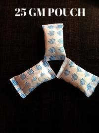 silica gel pouch 25 gm