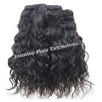 Temple donated Unprocessed Wavy Human Hair