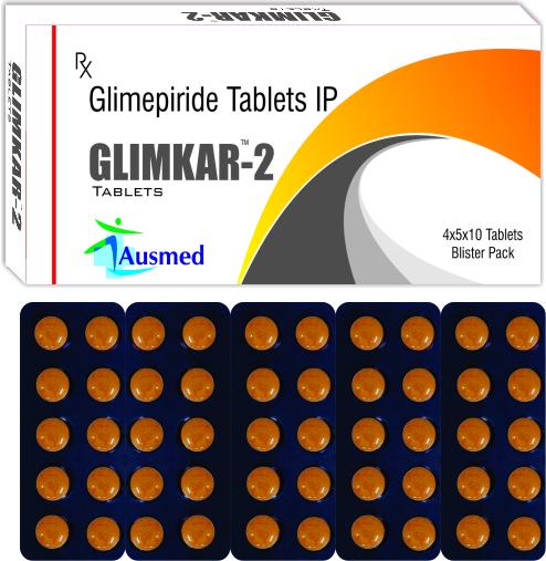 Glimepiride Ip 1 Mg